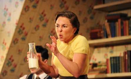 Samantha Spiro in Chicken Soup with Barley at the Royal Court, London in 2011.