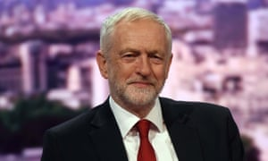 Jeremy Corbyn on the Andrew Marr Show on Sunday.