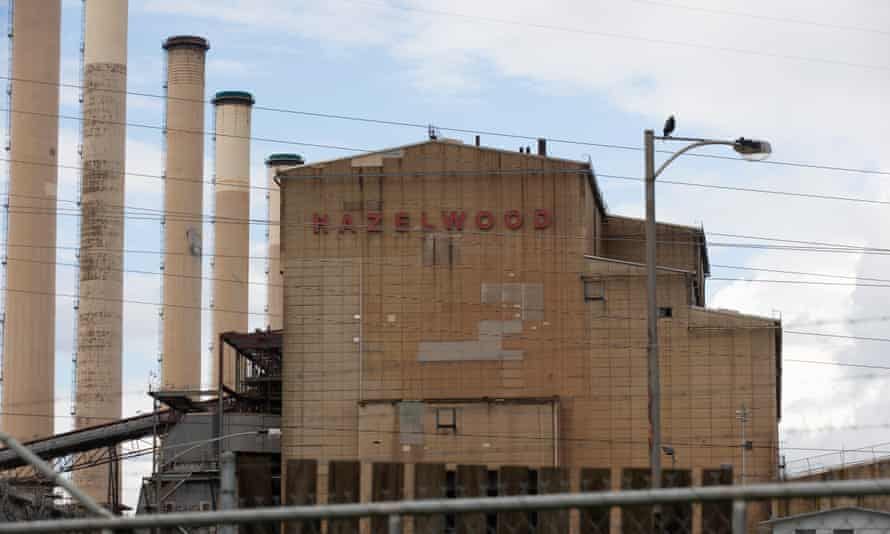 The Hazelwood power station in 2018. Almost all of the generation capacity lost in Hazelwood's closure has been replaced by renewables.