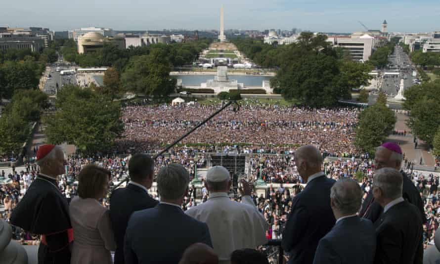 Pope at National Mall