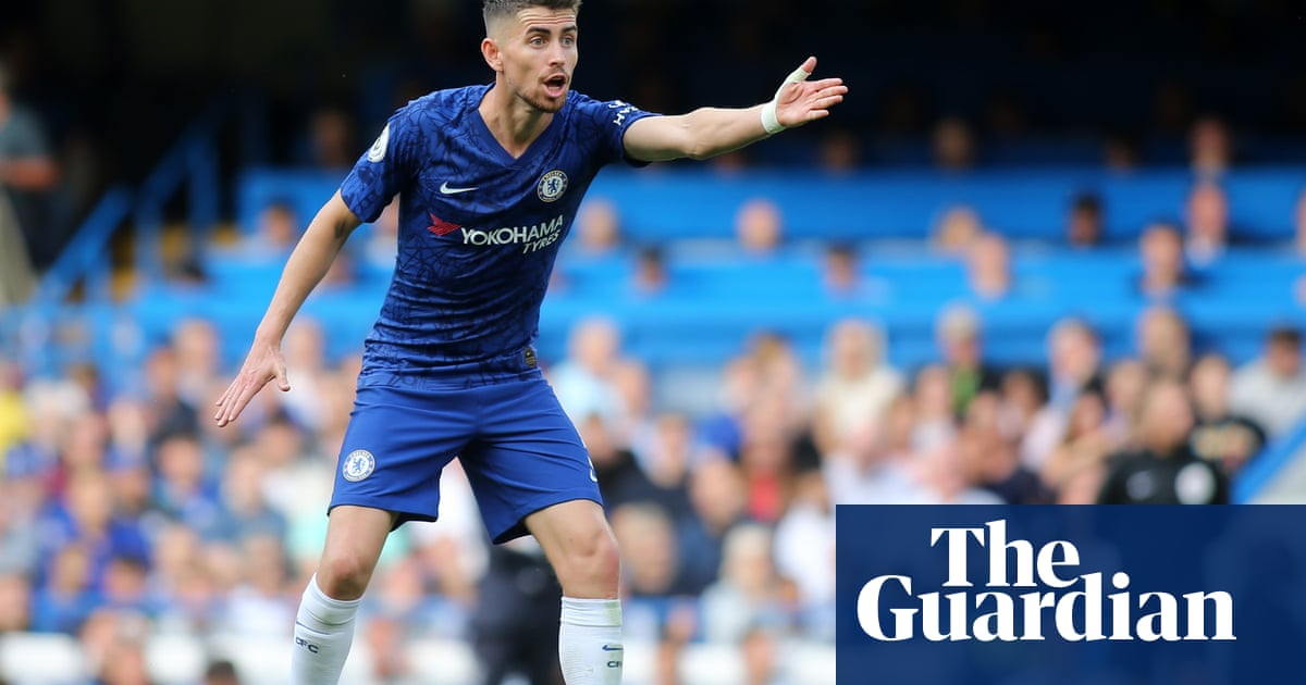 Jorginho can own a game from midfield, says Chelsea manager Frank Lampard
