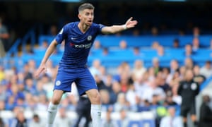 Jorginho can own a game from midfield, says Chelsea manager