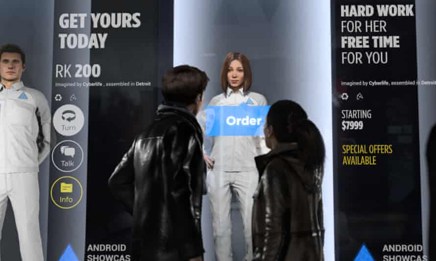 PlayStation 4 game Detroit: Become Human attempts to tackle AI rights in its story