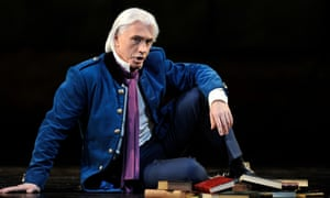 Dmitri Hvorostovsky in the title role of the Royal Opera's production of Tchaikovsky's Eugene Onegin in 2015.
