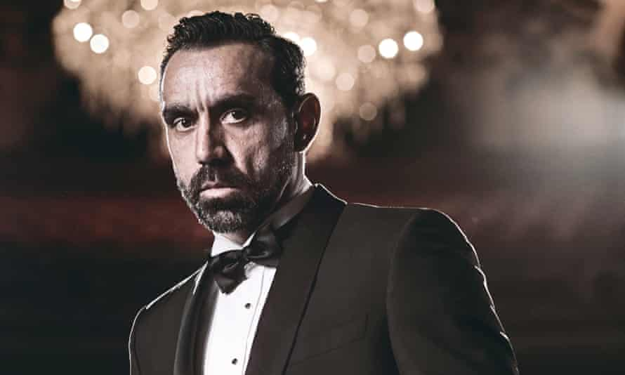 The former AFL player Adam Goodes in an advertising campaign for David Jones in 2015.