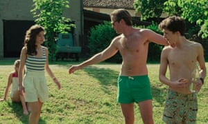 Wrong type of nudity … Call Me By Your Name.