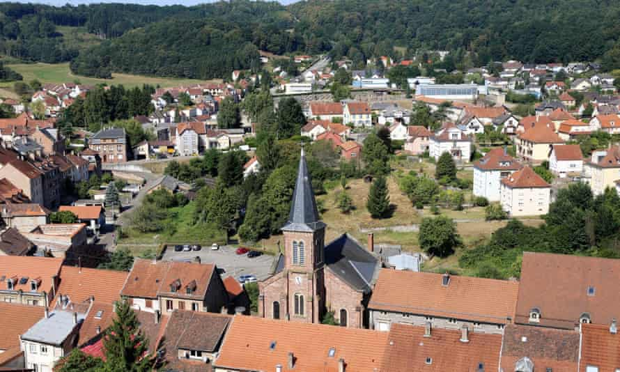 The small town of Bitche in France.