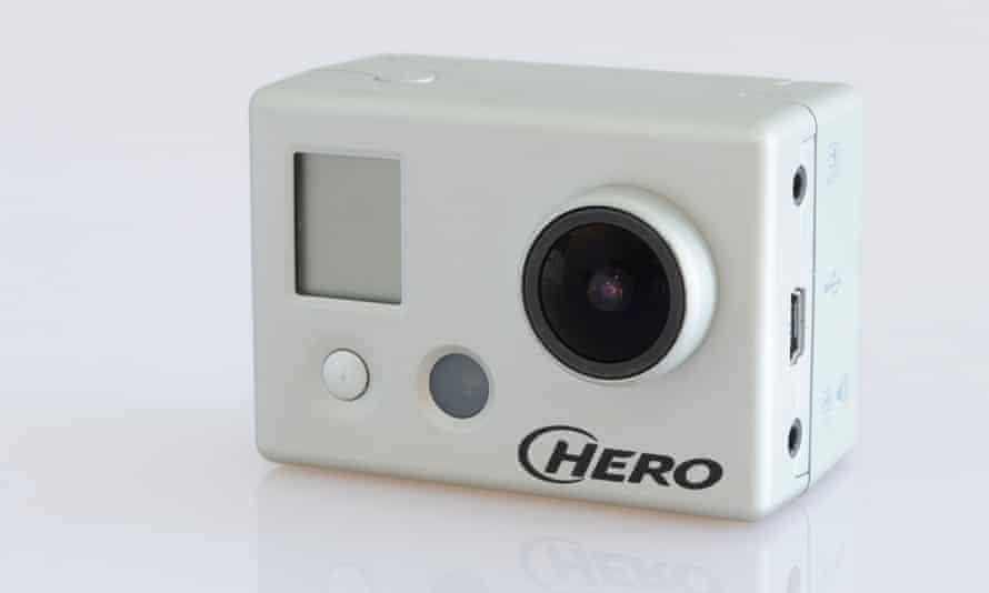 The original GoPro Hero.