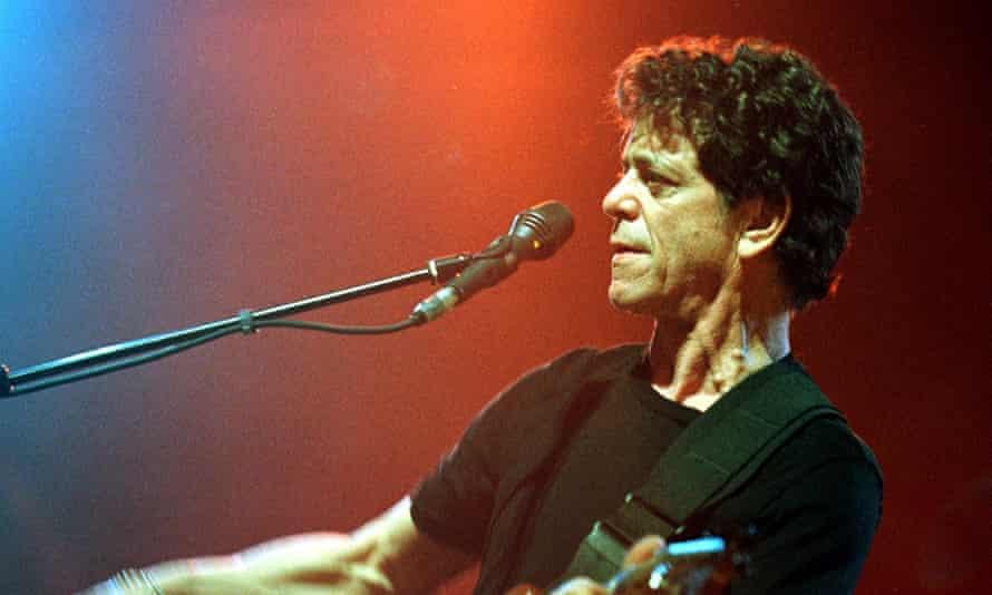 Lou Reed performing in 2000.