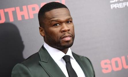 50 Cent, aka Curtis Jackson.