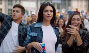 Kendall Jenner in the controversial Pepsi advert