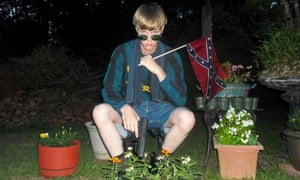 Dylann Roof website photo