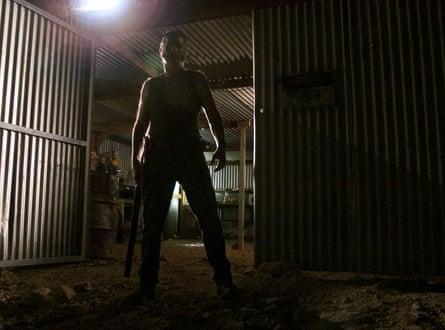 Bogeyman … John Jarratt as Outback scourge Mick Taylor in Wolf Creek.