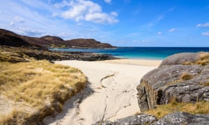 Sanna beaches, Ardnamurchan peninsula, Scotland.