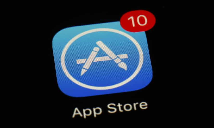 Apple's App Store app in Baltimore