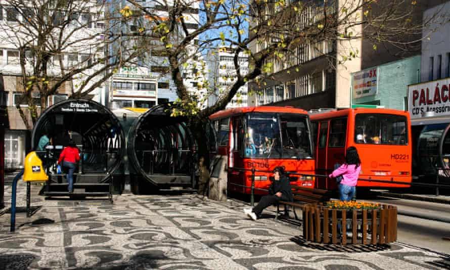Curitiba Rapid Bus Transit system