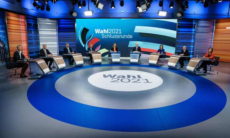 Candidates line up in Berlin on Thursday for the final televised debate ahead of Sunday's election