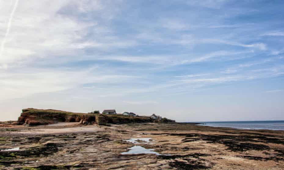 Hilbre Island, in the Dee estuary