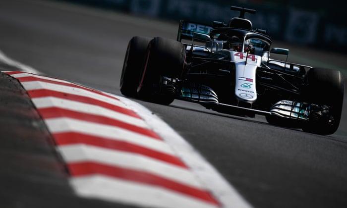 Lewis Hamilton ser ut til å hevde sin femte tittel med forfalt panache