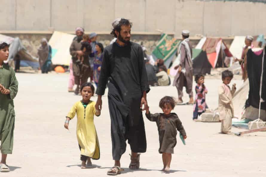 Haji camp for internally displaced people, Kandahar, southern Afghanistan