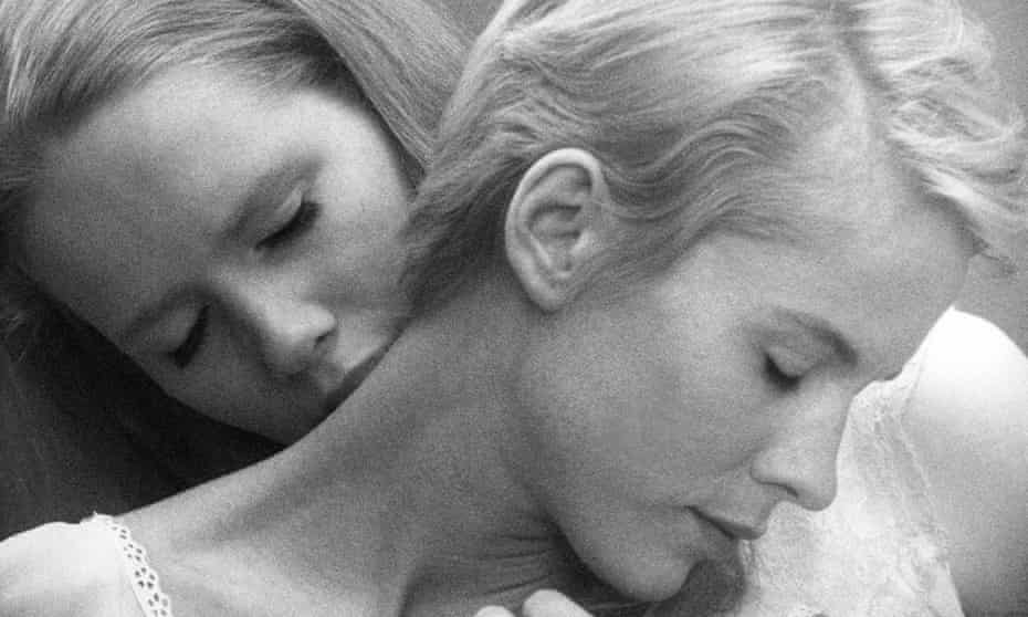 Bibi Andersson and Liv Ullmann in Persona.