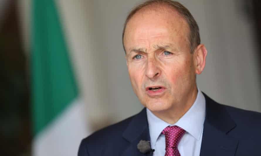 Irish premier Micheál Martin