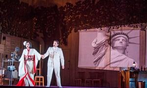 Olga Busuioc and Joshua Guerrero in Madama Butterfly.