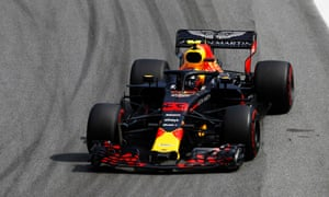 Verstappen retakes the lead.