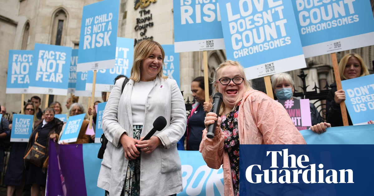 Woman with Down's syndrome loses UK abortion law case