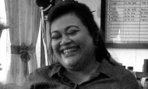 Merri Utami, an Indonesian woman, is facing imminent execution in Indonesia and has made a last-minute appeal to the president, Joko Widodo, for clemency, on 27 July 2016. Picture supplied by her legal representatives, Lembaga Bantuan Hukum Masyarakat.