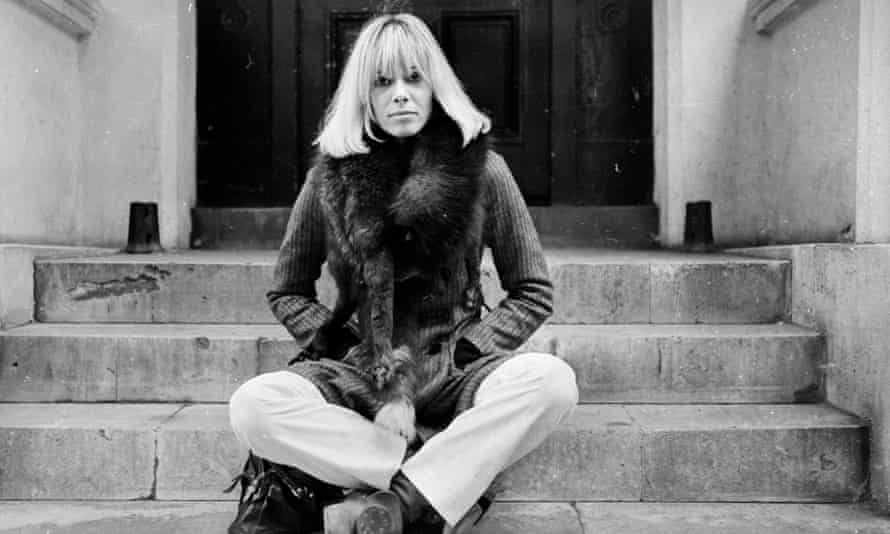 Anita Pallenberg, who has died aged 73.