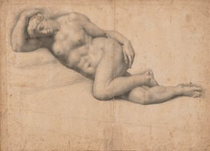Dido Reclining, Asleep by Daniele da Volterra (estimate: £50,000-£80,000) from Brian Sewell's private art collection.