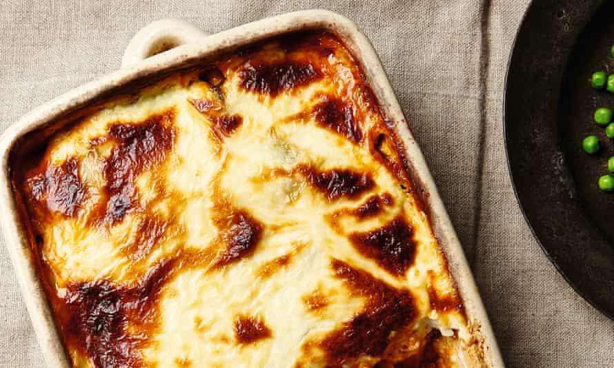 Yotam Ottolenghi's merguez and potato bake