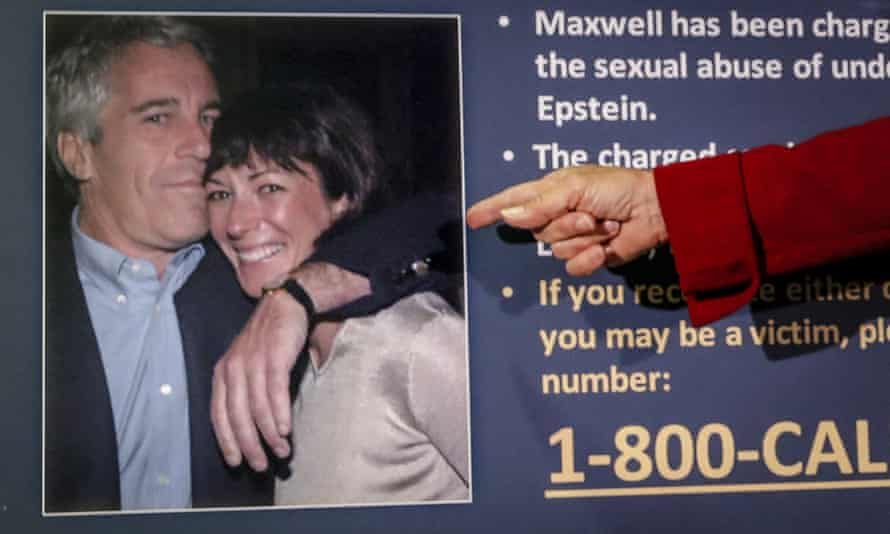 Jefrrey Epstein and Ghislaine Maxwell