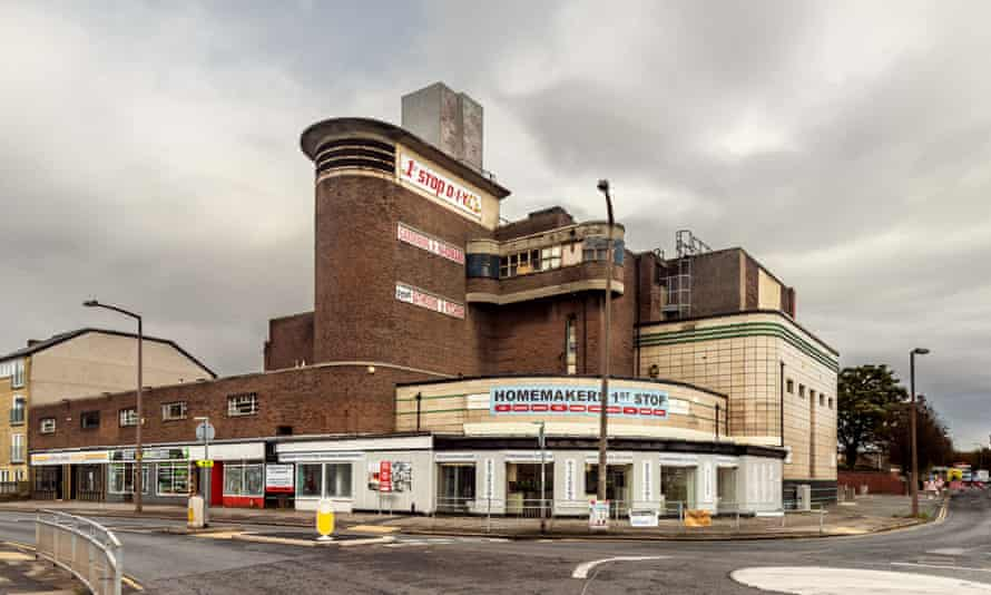 Morecambe Odeon building in the present day.
