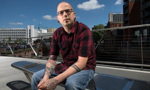 'Everyone has different ways of dealing with grief and trauma, and this is mine': Dan Hett.