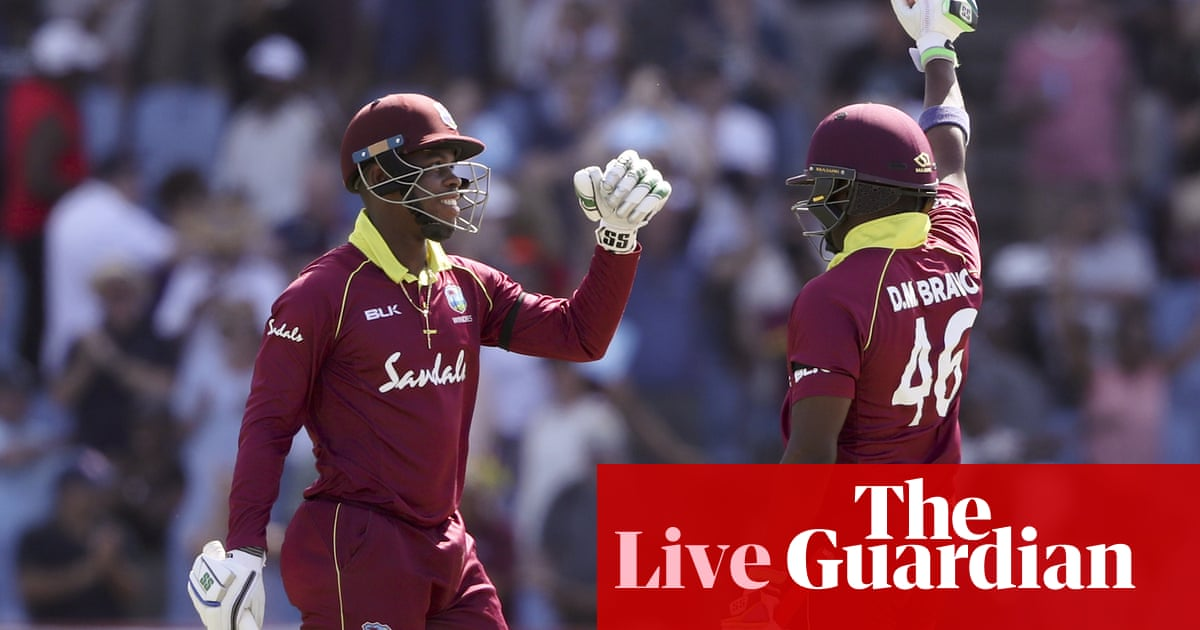 West Indies cruise to seven-wicket win over England in fifth