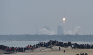 China's Carrier Rocket Long March-8 Makes Debut Flight. Photo by VCG/VCG via Getty Images