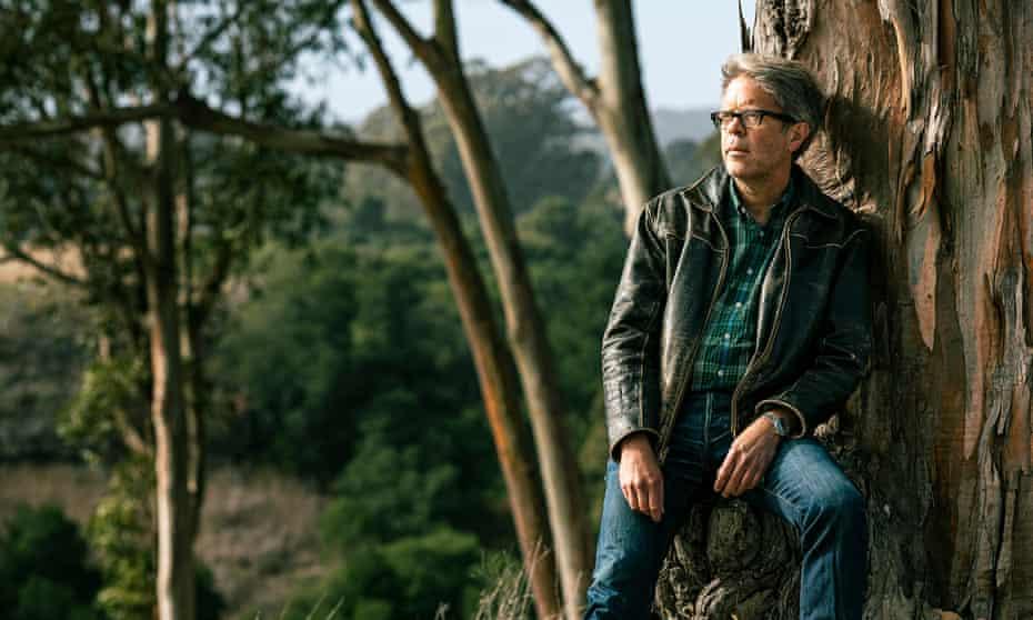 Jonathan Franzen near Santa Cruz, California.