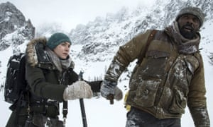 Kate Winslet and Idris Elba in The Mountain Between Us: 'an odd misfire'