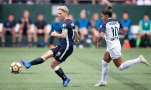 Jess Fishlock's club side, Seattle Reign, secured a play-off place in the NWSL earlier this week.