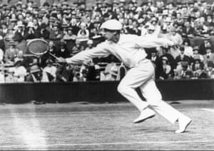"""1920sRené Lacoste, nicknamed """"the Crocodile"""" reportedly because of how he dealt with opponents, won Wimbledon in 1925 and 1928. He would go on to make a name for himself in the fashion world, giving his name to the polo shirts that he often wore to play."""