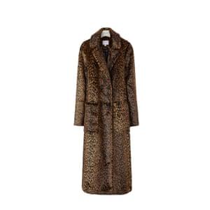 Leopard longline, £129, warehouse.co.uk.