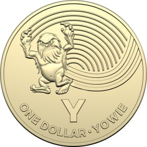The yowie $1 coin