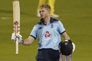 Australia set England target of 295: first one-day international – live!