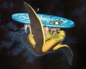 Paul Kidby's original illustration of Great A'tuin