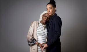 Paulette Wilson, left, and her daughter Natalie.