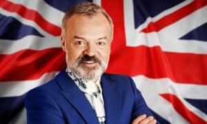 Resident host Graham Norton ... Eurovision: Europe Shine A Light.