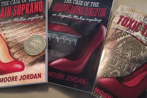 """'Most recently, I've released a third book in my """"Augusta McKee Mystery"""" series. Book number four is in the works'"""