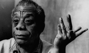 BALDWIN<br>Author James Baldwin gestures in a February 25 1985 photo. James Campbell, the biographer of Baldwin, won a victory Tuesday, Dec. 29, 1998 in a 10-year court battle to obtain the FBI's files about the internationally known black writer. But it came late: the biography, ``Talking at the Gates: A Life of James Baldwin'' was published in 1991. (AP Photo/Los Angeles Times)